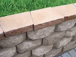 retaining wall cap at menards