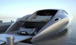 The new bugatti niniette 66 super yacht is worth $2.2 million and looks fit for a superhero. The Strand Craft 122 It Has A Bugatti Inside Hahahahahaha Who Thinks Of This Stuff Super Yachts Boat Yacht Design