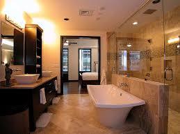 Bathroom  Bathroom Small Master Bathroom Remodeling Glass Stall - Remodeled master bathrooms