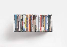 dvd wall shelf 45 x 15 cm