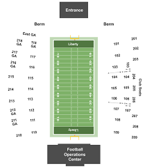 Liberty Football Seating Chart Liberty Flames Vs North Carolina A T Aggies Tickets At