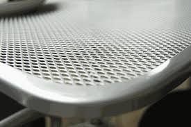 mesh 30 round outdoor table top with umbrella hole