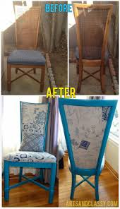 Best 25+ Dining chair redo ideas on Pinterest   Dining chair ...
