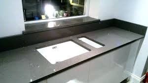 sparkle quartz countertops grey dark kitchen ideas white cost with