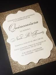 Quincenera Invitations Quinceanera Invitation Glitter Quinceanera Invitations