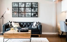 apartment home office. Apartment Therapy Office. After: Nicole After 4 A Havenly-designed Chicago Living Room Home Office E