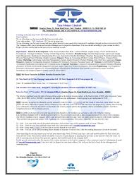 call letter from tata motors limited
