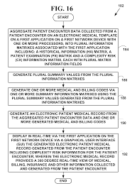 patent us method and system for automated medical records  patent drawing