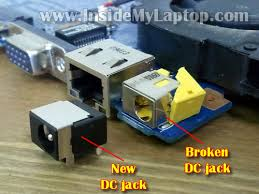 how to modify damaged dc jack laptop repair 101 fix gateway nv power jack