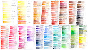 Daniel Smith Watercolor Dot Chart Daniel Smith Watercolor 238 Dot Color Chart Google Search