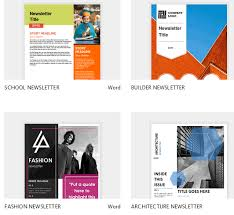 Microsoft Office Word Newsletter Templates Download Gratis 47 Template Newsletter Microsoft Word