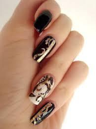 Beautiful Gold Nail Art - Fashion Fuz