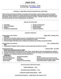 General Labor Resume samples VisualCV resume samples database Carpinteria  Rural Friedrich