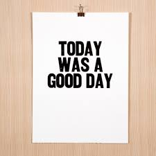 Today Was A Good Day Quotes Interesting Swissmiss Today Was A Good Day
