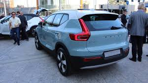 2018 volvo hatchback. beautiful hatchback 2018 volvo xc40 blue rear left quarter intended volvo hatchback