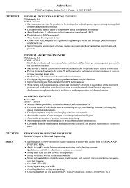 Product Marketing Engineer Resume Marketing Engineer Resume Samples Velvet Jobs 1