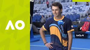 29 june 2021 court 17. Alex De Minaur I M Extremely Happy To Be Back On Court Interview 1r Australian Open 2021 Youtube