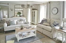 magnolia grove wallpaper 40 per roll curtains in brampton stripe 36 per m padstow sofa 1 450 dorset white coffee table 605 display cabinet