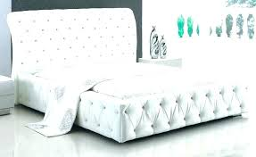 white upholstered twin bed. Fine Bed White Upholstered Twin Bed Frame In Antique S 2  For White Upholstered Twin Bed