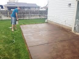 patio concrete slabs. Simple Slabs In Patio Concrete Slabs