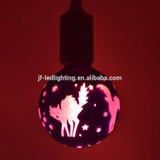 Donkey Decoration Led Bulb Painted Plate Lamp Hanging Pendant