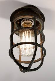 interior antique industrial cast bronze cage light fixture for wall or attractive realistic 10 industrial cage light fixture a44