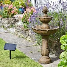 Best Solar Bird Bath Fountains For Small Gardens Images On