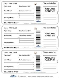 Invitation Ticket Template Boarding pass template flexible photoshot invitation templates 71