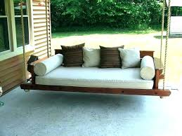 hanging porch bed this