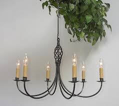 here for a larger picture six arm twisted basket 6066 big custom wrought iron chandelier