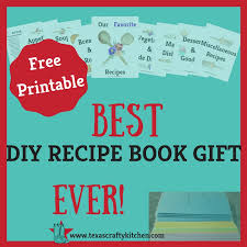 diy recipe book gift a simple solution to organizing recipes a great diy gift