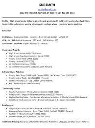 College Resume Checklist format Simple