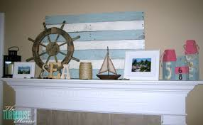 my lazy summer decor  the turquoise home
