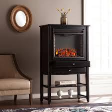mahoney corner convertible electric fireplace storage tower electric fireplaces fireplaces