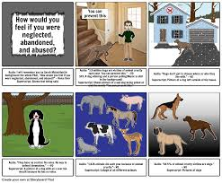 dog abuse psa storyboard by hcps hannaml