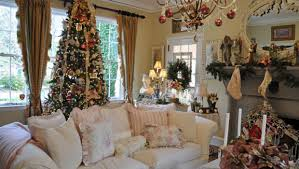 Small Picture Artistic Christmas Decorated Homes Inside Collection Home Living