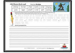 Split into 7 groups, the worksheets contain all 42 letter sounds. English Esl Jolly Phonics Worksheets Most Downloaded 14 Results