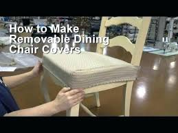 seat covers for dining room chairs how to make a kitchen chair seat cover do it