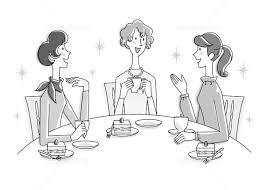 女性 3人 ティータイム イラスト イラスト素材 5820367 フォト