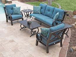 san marino 4 pc aluminum sofa group
