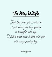 My Wife Quotes