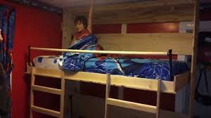 Fold Down Bunk Beds Cameron Landens New Murphy Bunk Bed Youtube