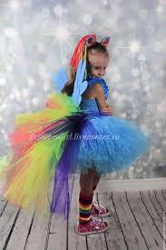 kids carnival costumes handmade livemaster handmade costume rainbow dash my