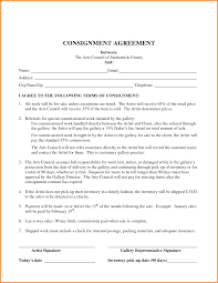 Consignment Form Template Agreement Templates Consignment Agreement Form Consignment 8