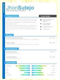 Colorful Resume Templates Enchanting Resume Template Color Colorful Resume Templates Colorful Resume
