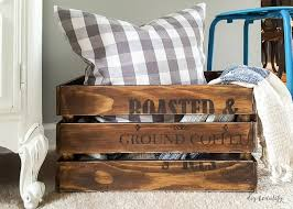 diy tutorial antiquing wood.  Tutorial Make A New Crate Look Old Intended Diy Tutorial Antiquing Wood I