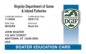 Center Recreation Safety Boating Vdgif's Deep Run Course Free At