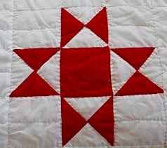 Red and White Ohio Star Quilt — HerKentucky by Heather C. Watson ... & Variants included the Texas Star and the Tippecanoe and Tyler Too patterns.  You can read more about it here and here. Adamdwight.com