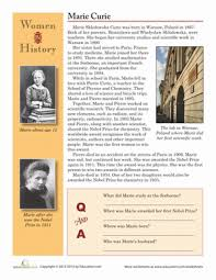 4th Grade Womens History Month Worksheets Free Printables