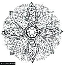 Mandala Printable Coloring Sheets Mandala Printable Coloring Pages